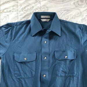 Christian Dior mens casual button down shirt